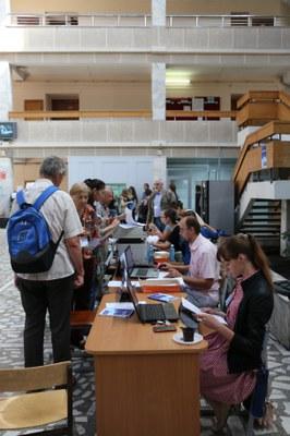 Регистрация участников EASTMAG-2016