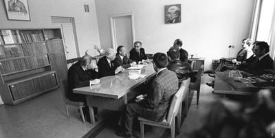 В кабинете И.А.Терскова.