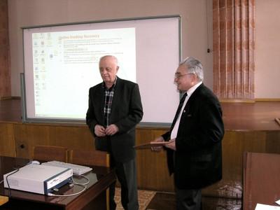 Шабанов В.Ф., Звегинцев А.Г.
