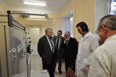 Академик Асеев А.Л. посетил институт