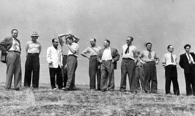 Выбор площадки для строительства Академгородка, 1957 г.