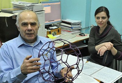 Чурилов Г. Н. и  Внукова Н. Г. Фото 2010 г.