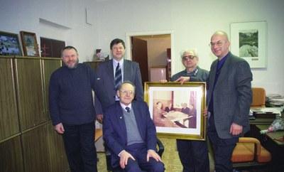 Поздравление с 70-летием К. С. Александрова