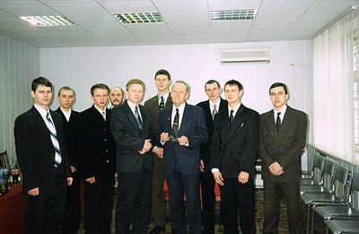 С выпускниками Красноярского Государственного университета