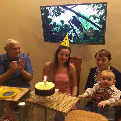 День рождения внука