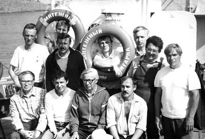 Экспедиция на  судне «Мятежный»