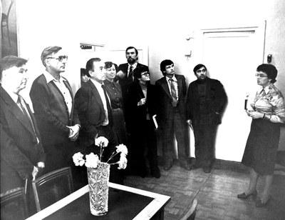 Гости из Томского научного центра