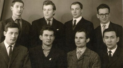 Группа перед защитой диплома