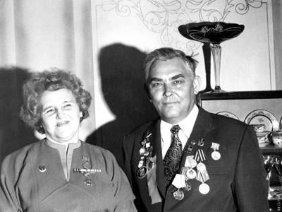 И.А. Терсков с супругой