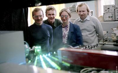В лаборатории молекулярной спектроскопии