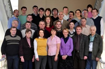 Сотрудники лаборатории ФМЯ
