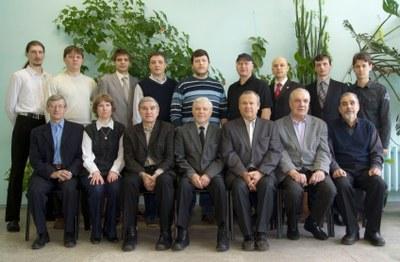 Сотрудники лаборатории электродинамики и СВЧ электроники