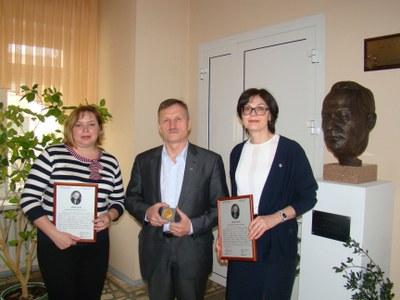 Лауреаты Премии им. академика В.А. Коптюга