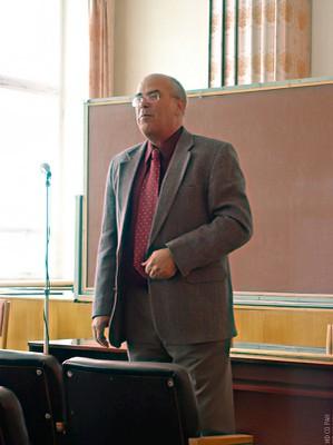 Лекция в Институте физики
