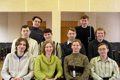 Молодое поколение лаборатории кристаллофизики