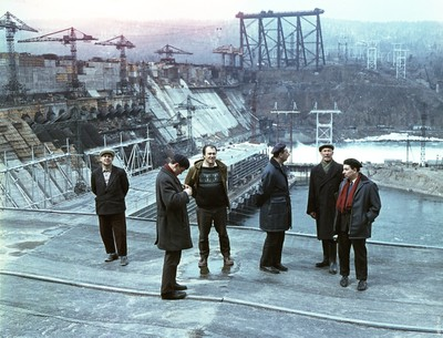 На Красноярской ГЭС