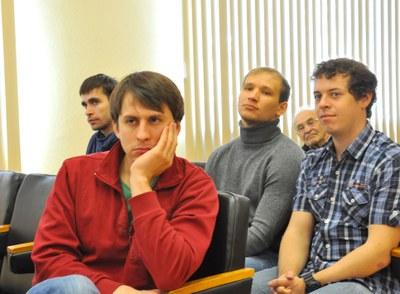 На заседании ученого Совета института