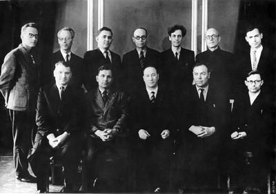 Первый состав Ученого совета Института