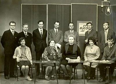 В студии ТВ после эфира программы
