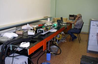 Работы по запуску установки Horiba Jobin Yvon T64000
