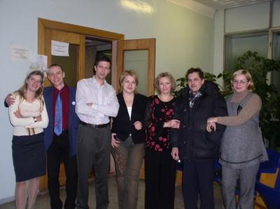 Встреча Нового 2004 года.
