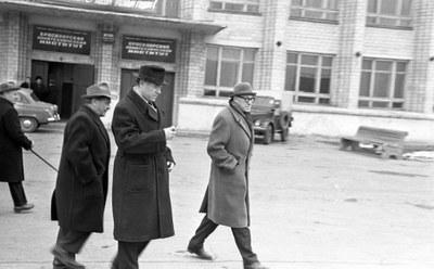 Посещение М.А. Лаврентьвым КПТИ