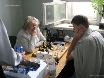 Шахматный турнир между сотрудниками Института