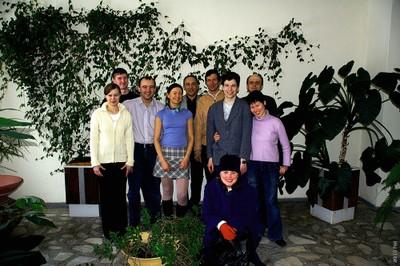 Сотрудники лаборатории СМП