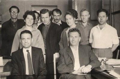 Сотрудники кафедры ФТТ МГУ
