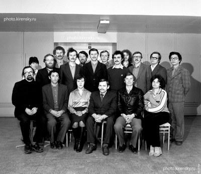 Сотрудники лаборатории когерентной оптики