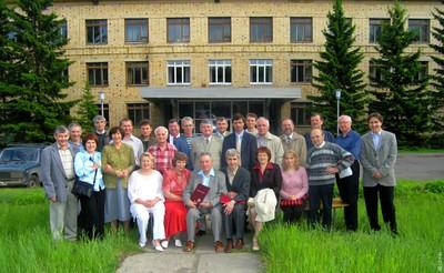 Сотрудники лаборатории РСА