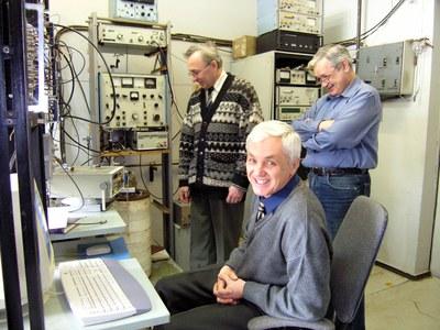 Сотрудники лаборатории РСМУВ