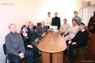 Сотрудники лаборатории теоретической физики