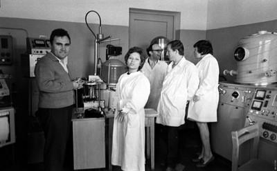 Сотрудники лаборатории ВИС ТМП