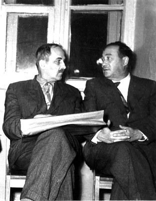 Телеснин Р.В.  и  Киренский  Л.В.
