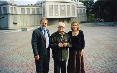 У  Мемориала Победы в Красноярске