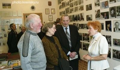 В музее  академика  Киренского Л.В.