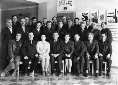 Ветераны и участники войны института
