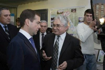 Визит Д.А. Медведева