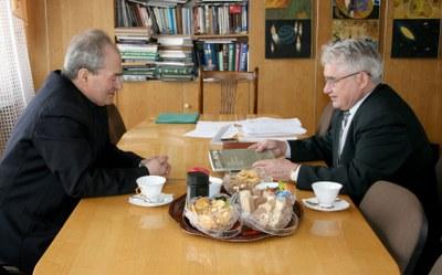 Встреча с писателем Р.К. Нотманом