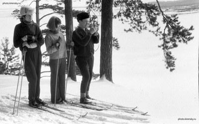 Зима в Академгородке