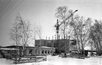 Строительство магнитного павильона и котельной