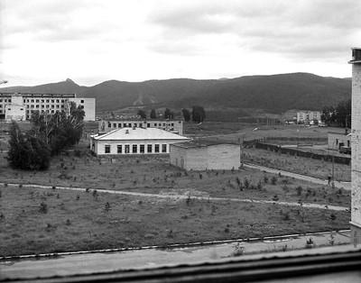 Вид из окна главного корпуса Института физики
