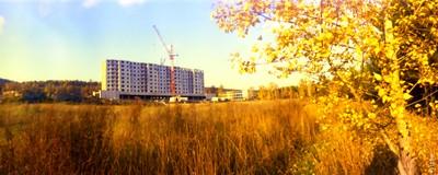 Академгородок осенью