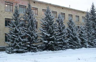 Здание главного корпуса института.