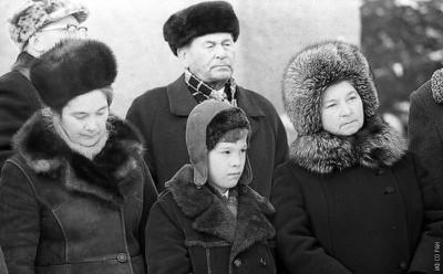 Открытие памятника Л.В. Киренскому