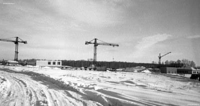 Начало строительства Институту физики