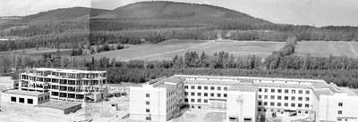 Строительство  отдела биофизики