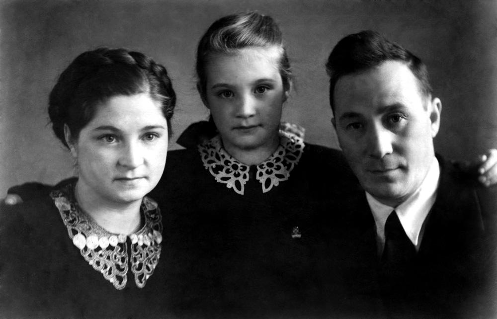 Семья Л.В. Киренского
