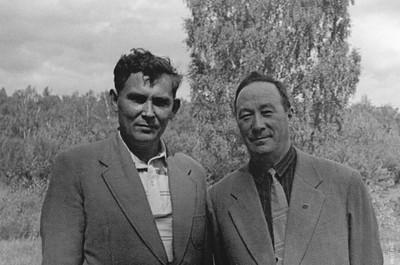 Л.В. Киренский,  И.А. Терсков.